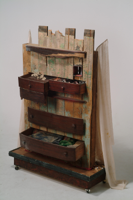 Lies In Drawers   86 x 60 x 16   2005